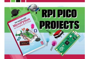 Raspberry Pi Pico Projects You Can Build with The Official MicroPython Guide & A Starter Kit