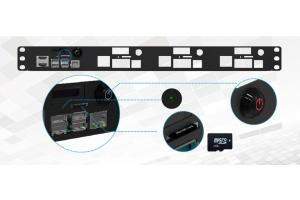 Best 1U Rack Mount for RPi 4B (OLED Screen, Switch & Dual HDMI)