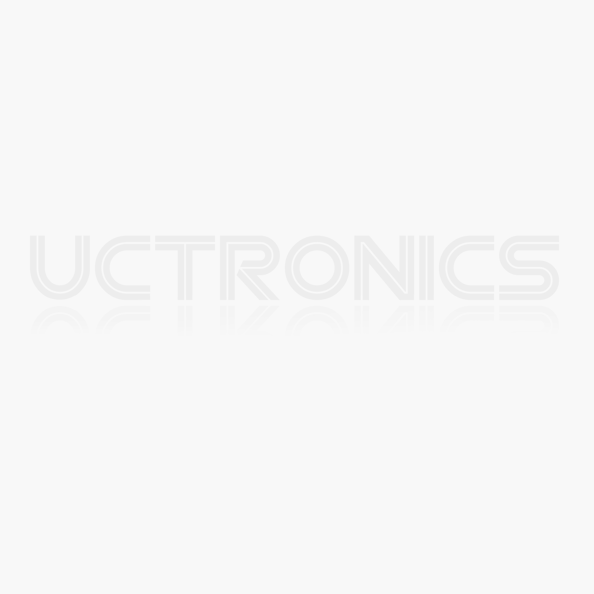 UCTRONICS Robot Car Kit for Raspberry Pi - Real Time Image & Video, Line Tracking, Obstacle Avoidance with Camera Module, Line Follower, Ultrasonic Module and App Control - Pi NOT Included