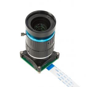 Arducam 20MP IMX283 Camera module with M12 mount lens and adapter board for DepthAI