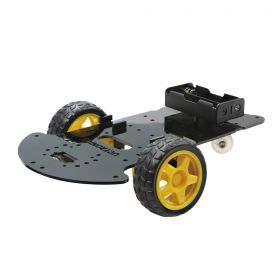 UCTRONICS Robot Car Chassis Kit – DIY Robot Platform for Hobby Robotics Project with Arduino, Raspberry Pi, and More