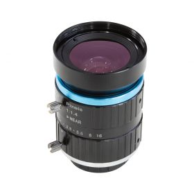 C-Mount Lens for Raspberry Pi High Quality Camera, 16mm Focal Length with Manual Focus and Aperture Adjustment