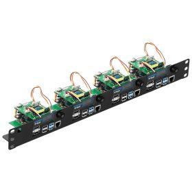 Arducam IMX477 12MP PTZ Camera for Raspberry Pi 4/3B+/3 and Jetson Nano/Xavier NX, IR-Cut Switchable Camera with Metal Base and 2 Digital Servos