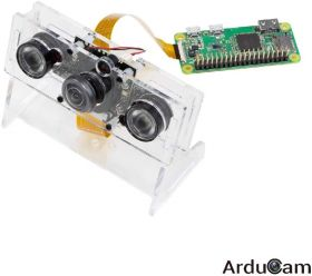 Arducam Wide Angle Day-Night Vision for Raspberry Pi Camera, 170 Degree (D) Automatic IR-Cut Switching All-Day Image All-Model Support with IR LEDs and Case