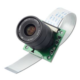 Arducam NOIR 8MP Sony IMX219 camera module with CS lens 2718 for Raspberry Pi 4/3B+/3