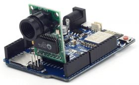 Arducam ESP8266 UNO Board and OV2640 Mini Module Camera Shield Compatible with Arduino UNO R3