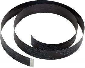 Pi Camera Cable, Arducam Octoprint Octopi Webcam, Monitor 3D Printer, 2FT/60CM Long Extension Flex Ribbon Cable for Raspberry Pi, Black