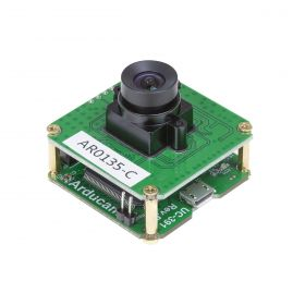Arducam 1.2MP Global Shutter USB Camera Evaluation Kit - CMOS AR0135 1/3-Inch Color Camera Module with USB2 Camera Shield