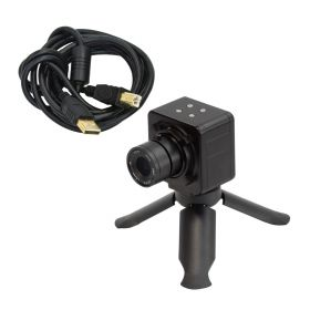 Arducam 4mm Manual Focus USB Camera with 1/2.7″ AR0230 Image Sensor, Full HD 1080P HDR Webcam with CCTV Video Lens for Android, Linux, Windows, and Mac OS