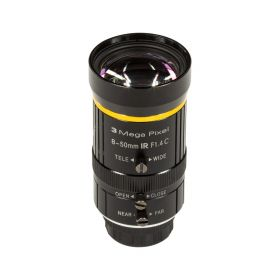 Arducam 8-50mm C-Mount Zoom Lens for IMX477 Raspberry Pi HQ Camera, with C-CS Adapter