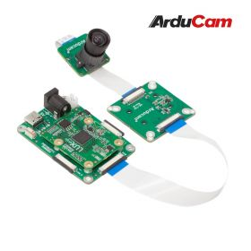 Arducam 12MP IMX477 MINI High Quality Camera with M12 mount lens and adapter board for DepthAI
