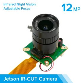 Arducam High Quality IR-CUT Camera for Jetson Nano/Xavier NX, 12.3MP 1/2.3 Inch IMX477 HQ Camera Module with 6mm CS Lens