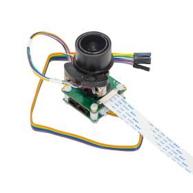 Arducam 13MP Pan Tilt Zoom PTZ Camera for Raspberry Pi 4/3B+/3, IR-Cut Switchable Camera with Metal Base and 2 Digital Servos
