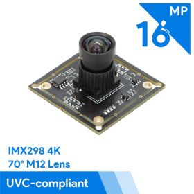 Arducam 16MP IMX298 USB Camera w/ M12 lens