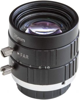 Arducam C-Mount Lens for Raspberry Pi High Quality Camera, 35mm Focal Length with Manual Focus and Adjustable Aperture