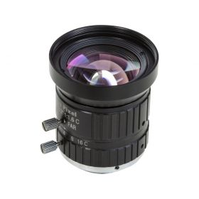 Arducam C-Mount Lens for Raspberry Pi High Quality Camera, 8mm Focal Length with Manual Focus and Adjustable Aperture