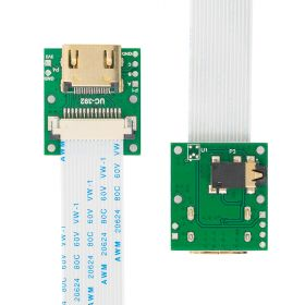 Arducam CSI to HDMI Cable Extension Module with 15pin 60mm FPC Cable for Raspberry Pi Camera Specific (Pack of 2, 1 Set)