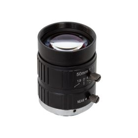 Arducam C-Mount Lens for Raspberry Pi High Quality Camera, 50mm Focal Length with Manual Focus and Adjustable Aperture
