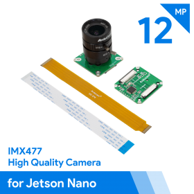 Arducam High Quality Camera for Jetson Nano, 12.3MP 1/2.3 Inch IMX477 HQ Camera Module with 6mm CS-Mount Lens