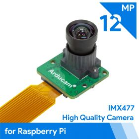 Arducam 12MP IMX477 Mini High Quality Camera Module for Raspberry Pi