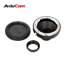 Arducam Lens Mount Adapter for Nikon F-Mount Lens to C-Mount Raspberry Pi HQ Camera