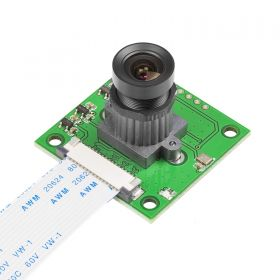 OV5647 Camera Board /w M12x0.5 mount Lens fully compatible with Raspberry Pi 4/3B+/3 Camera