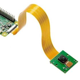 Arducam 5 Megapixels 1080p Sensor OV5647 Mini Camera Video Module with 15 Pin 1.0mm Pitch to 22 Pin 0.5mm and 15pin to 15pin 1.0mm Ribbon Cable for Raspberry Pi Model A/B/B+, Pi 2, Pi 3, Pi 4 and Pi ZERO