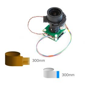 Arducam 12MP IMX477 Pan Tilt Zoom(PTZ) Camera for Raspberry Pi 4/3B+/3 and Jetson Nano, IR-Cut Switchable Camera