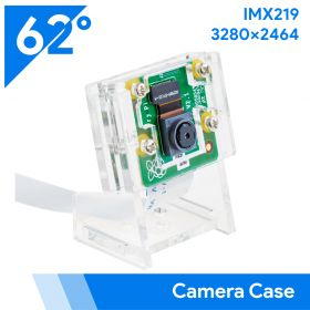 Raspberry Pi Official Camera Module V2-8 Megapixel, 1080p IMX219 Camera Board with Acrylic Case