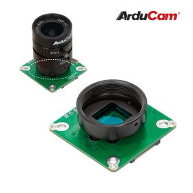 Arducam High Quality Camera for Raspberry Pi, 12.3MP 1/2.3 Inch IMX477 HQ Camera Module with 6mm CS Lens for Pi 4B, 3B+, 2B, 3A+, Pi Zero and more