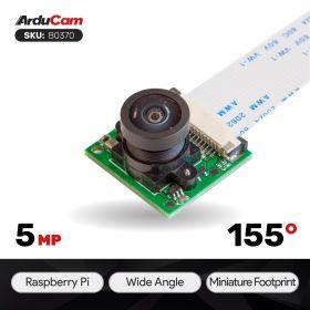 Arducam MINI OV5647 Wide angle camera module for Raspberry Pi 4/3/3 B+, and More