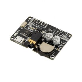 UCTRONICS Bluetooth 5.0 Mini Audio Receiver Board, Portable HiFi Stereo Music Pre Amplifier for Headphone, Car Amplifier, Home Sound System, DIY Speaker