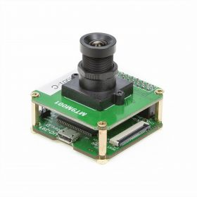 Arducam 1.3MP USB Camera Evaluation Kit - HD CMOS MT9M001 1/2-Inch Color Camera Module with USB2 Camera Shield