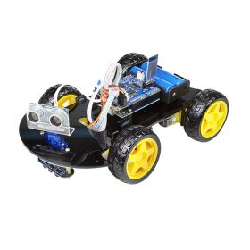 UCTRONICS Smart Bluetooth Robot Car Kit K0072- Charger Included, Battery not Included