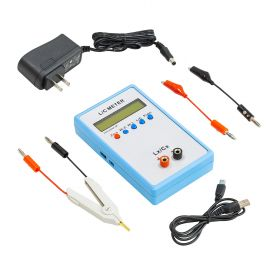 UCTRONICS High Precision Handheld LC Inductor Capacitor Tester, Inductive Capacitance Meter Kit, 1pF-100mF, 1uH-100H