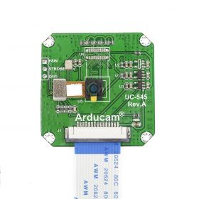 Arducam Global Shutter Camera Module for Raspberry Pi, 0.31MP Monochrome OV7251, 3 μm Pixel Size, Plugged into Native MIPI CSI-2 Port