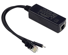 UCTRONICS IEEE 802.3af Micro USB Active PoE Splitter Power Over Ethernet 48V to 5V 2.4A for Tablets, Dropcam or Raspberry Pi (48V to 5V 2.4A)