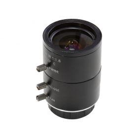 Arducam 4-12mm Varifocal C-Mount Lens for Raspberry Pi HQ Camera, with C-CS Adapter