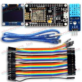 "UCTRONICS ESP8266 ESP-12E IoT Weather Station 0.96"" OLED DHT11 for Arduino IDE"