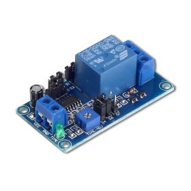 UCTRONICS DC 12V Time Delay Relay Module for Smart Home, Tachograph, GPS, PLC Control, Industrial Control, Electronic Experiment, Arduino Robot
