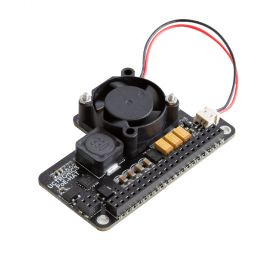 PoE HAT for Raspberry Pi 4, UCTRONICS Mini Power over Ethernet Expansion Board for Raspberry Pi 4 B 3 B+, with Cooling Fan