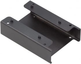 """UCTRONICS for Raspberry Pi NAS Metal Bracket, Supports 2 Units of 2.5"""" SSD and Raspberry Pi 4, 3B/3B+ and Other B Models"""