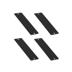 UCTRONICS Blank Cover for Front Removable Raspberry Pi 3U Rack Mount, 4 Pack