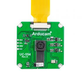Arducam 13MP Pi Camera 4K, 1/3 Inch IMX135 for Raspberry Pi Camera, MIPI Camera Module, Plugged into Native MIPI CSI-2 Port on Raspberry Pi