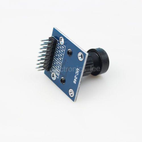 VGA OV7670 CMOS Camera Module 0.3 Mega Pixel Lens CMOS 640X480 TOP