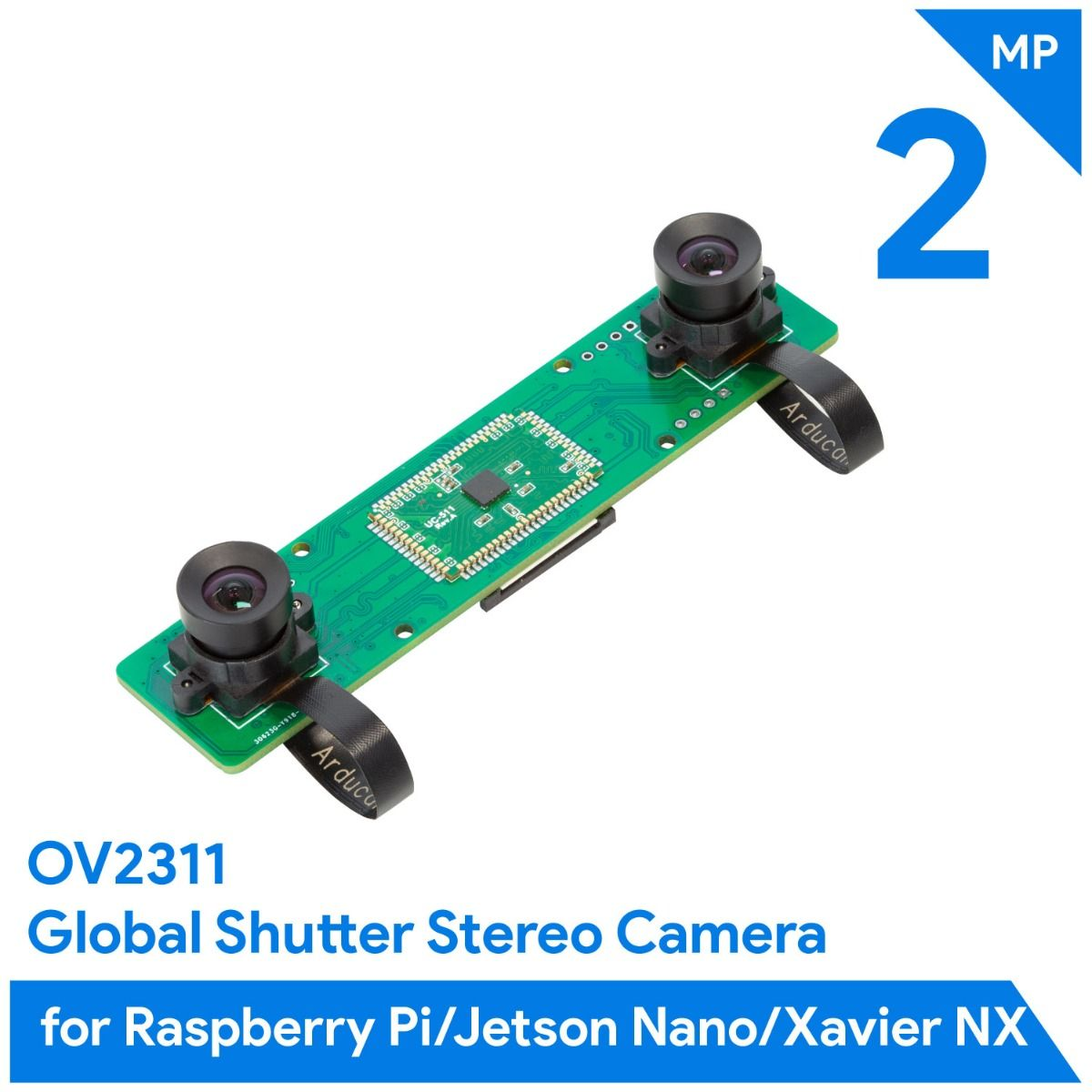 Arducam 2MP*2 Stereo Camera MIPI Module