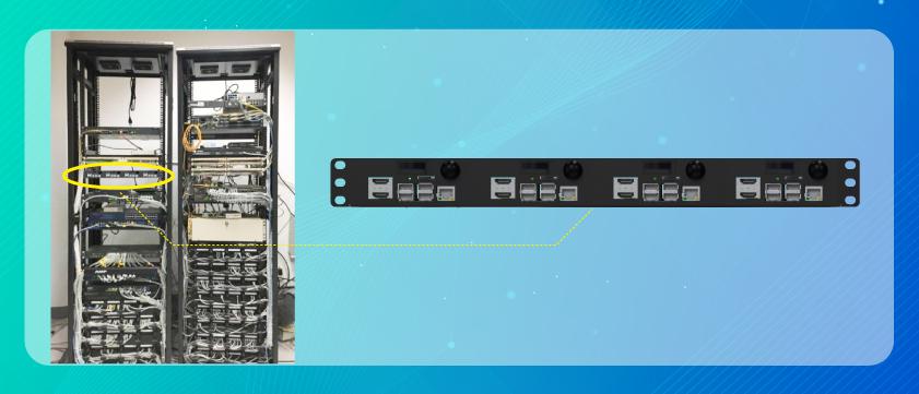 1U rack mount in server racks