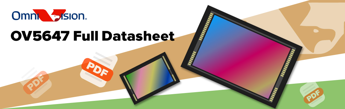 Download full sensor datasheets of OminiVision CMOS sensors