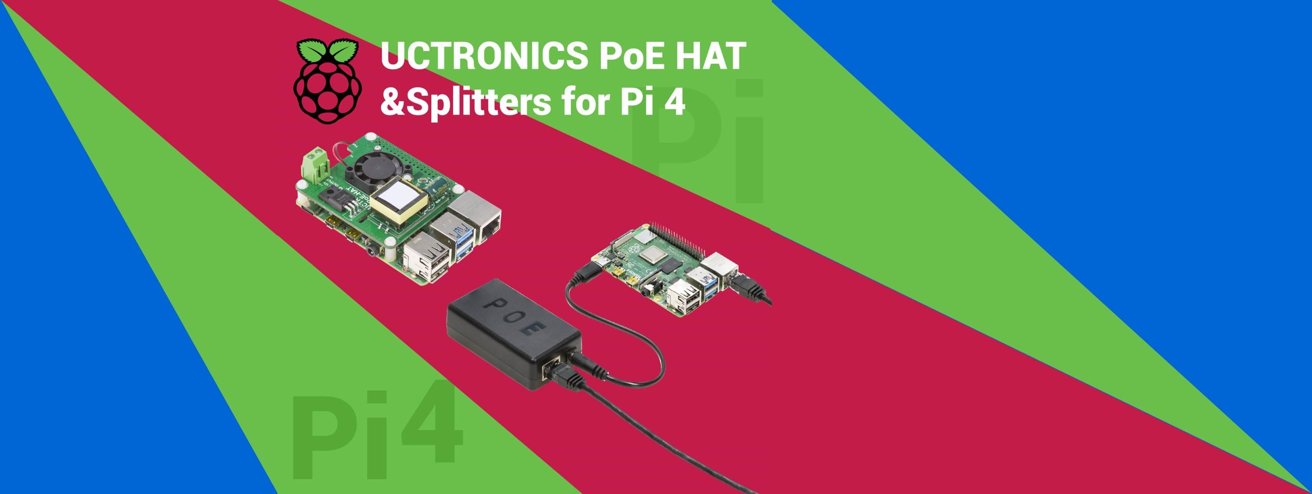 uctronics raspberry pi poe series