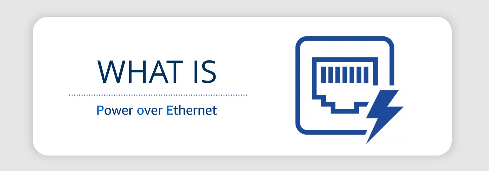 uctronics what is poe power over ethernet